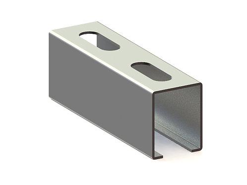 Profil montaj tip X (28x35x1.25mm) L=4000mm