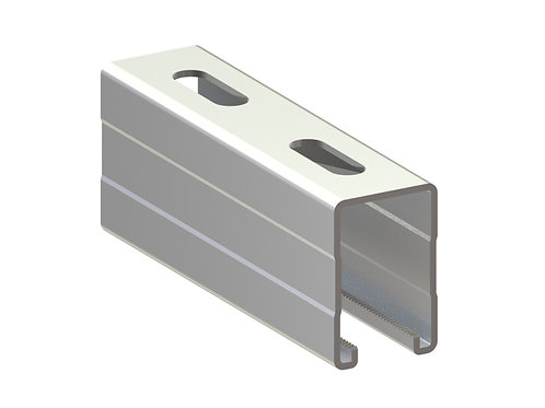 Profil montaj tip MH (41x62x2.5mm) L=4000mm