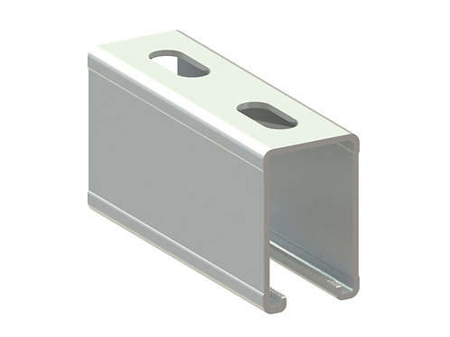 Profil montaj tip ME (50x80x3.0mm) L=6000mm