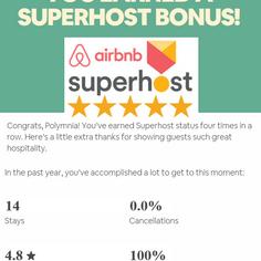 Airbnb Super host 2018
