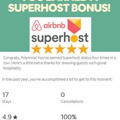 Airbnb Super host 2017