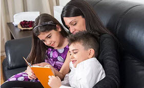 What can parents do to improve their child's reading?