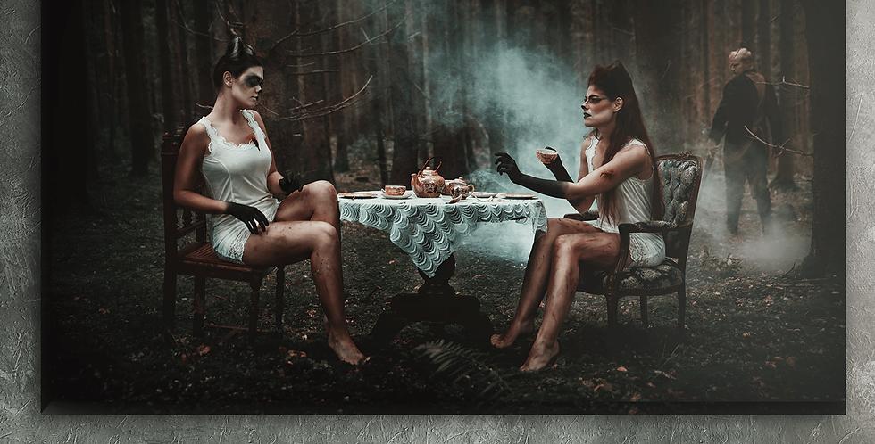 Wanddeko: Forest Friendship