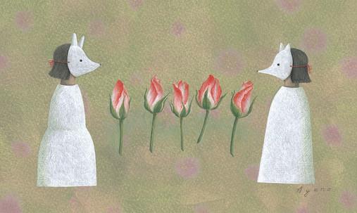 咲き時を待つ
