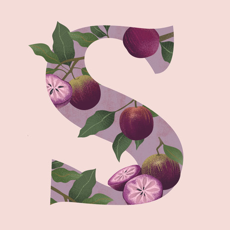 S is for Star Apple