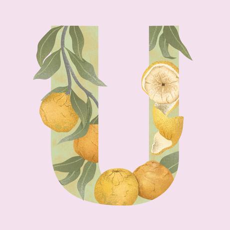 U is for Ugli Fruit