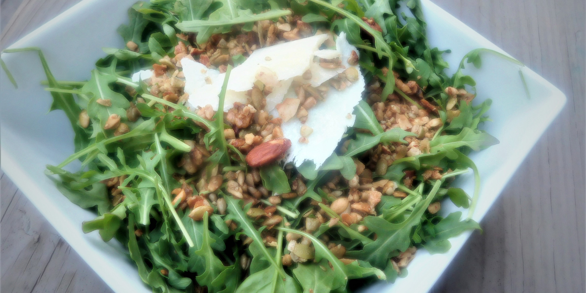 Clean Crunch on Spinach Salad