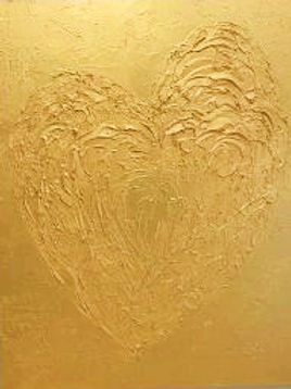 Gold Heart - SOLD