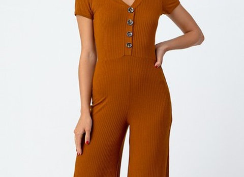 Terracotta Jumpsuit