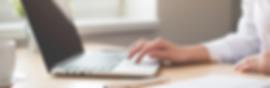 Return Policy customer at laptop