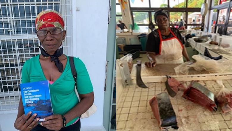 Grenada fish vendors
