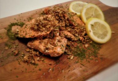 Clean Crunch on Salmon