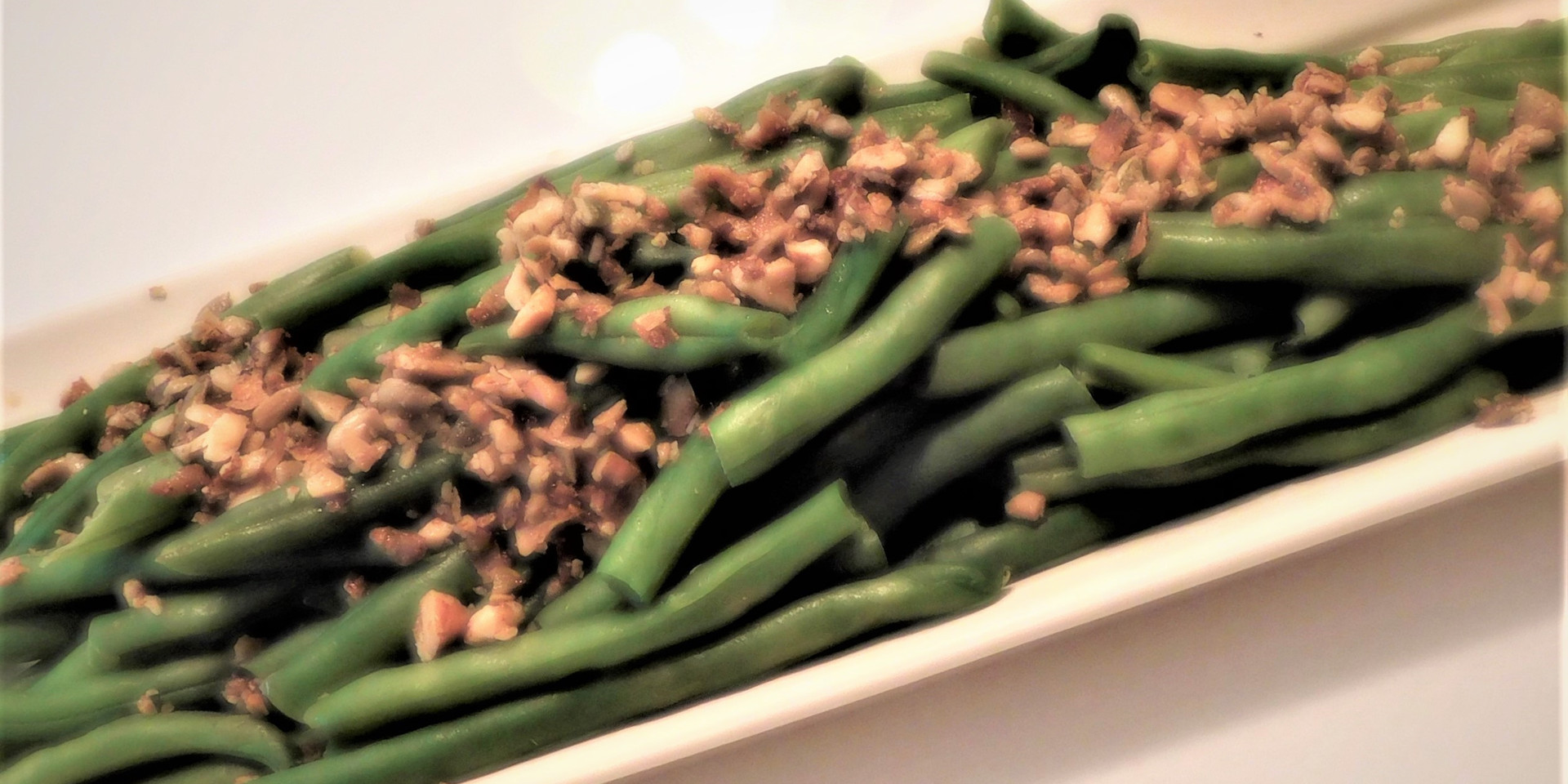 Clean Crunch on Green Beans