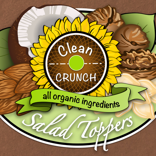 Clean Crunch Organic Label