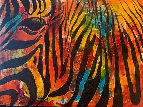 The Zebra - ORIGINAL SOLD