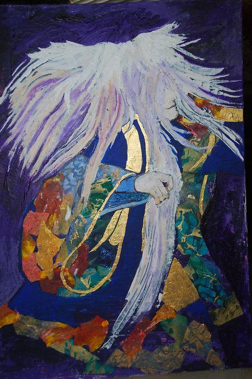 Kabuki Dancer - ORIGINAL SOLD