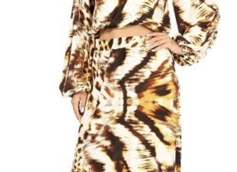 Leopard Two Piece Set