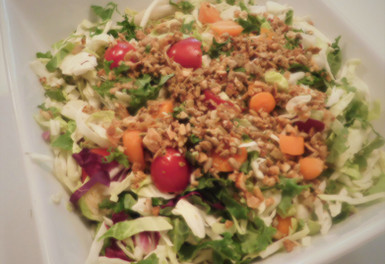 Clean Crunch on Salad