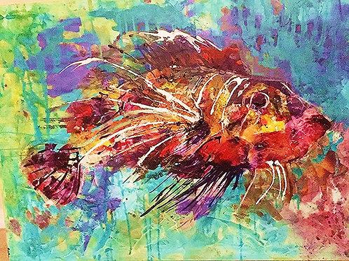 Lion Fish - SOLD