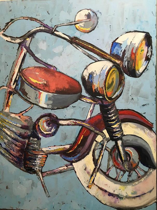 Deconstructed Bike