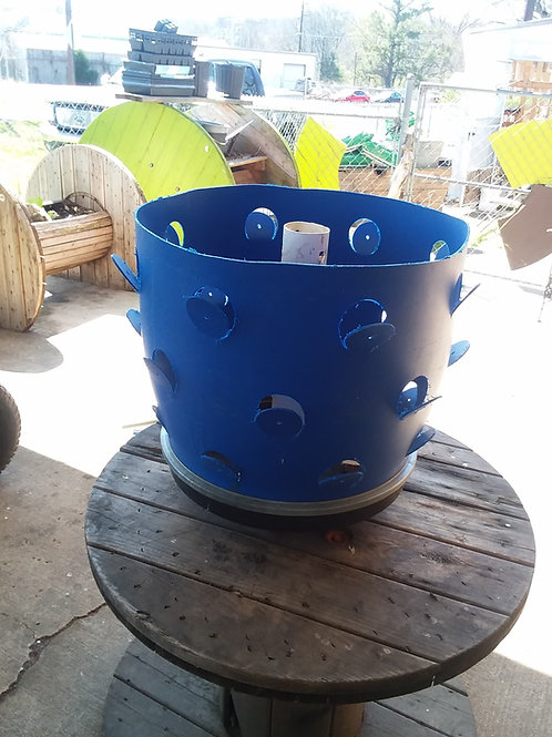 Grow Barrel Planter... Call to order at (205)422-0529