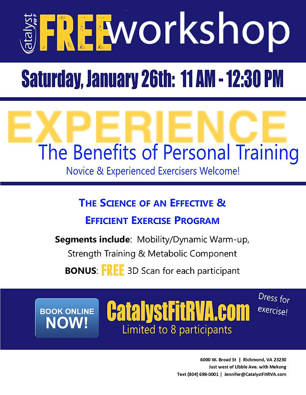 Catalyst Fit Semi Private Training Works