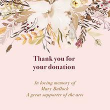 Mary Bullock Donation
