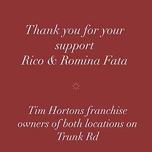 Rico Fata Sponsor