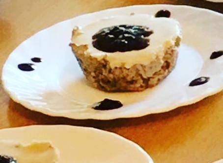 VEGAN CASHEWS CHEESE CAKE (With Berries)