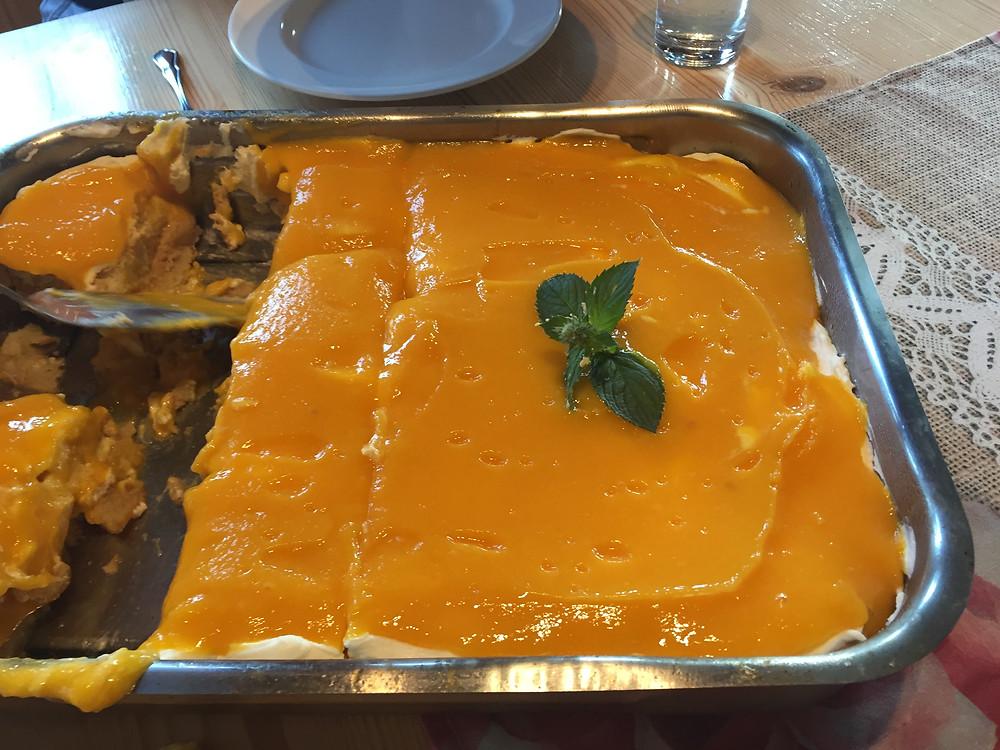 Dessert - Mango Tiramisu