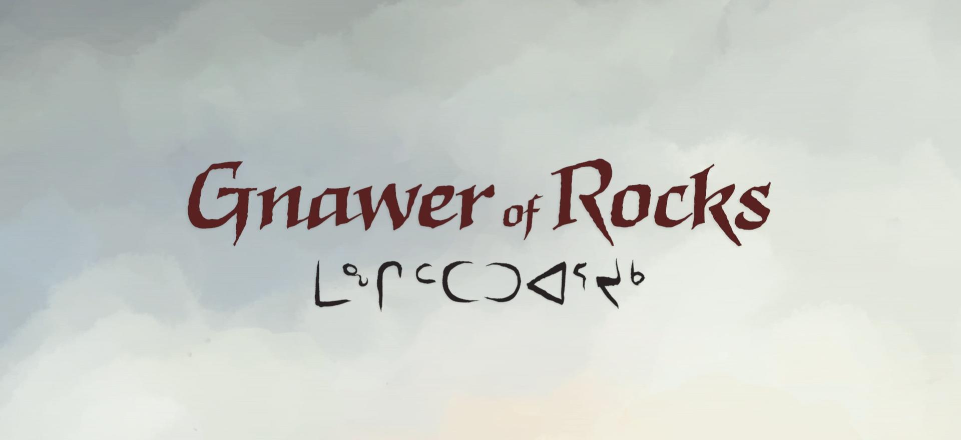 Gnawer of Rocks (short)