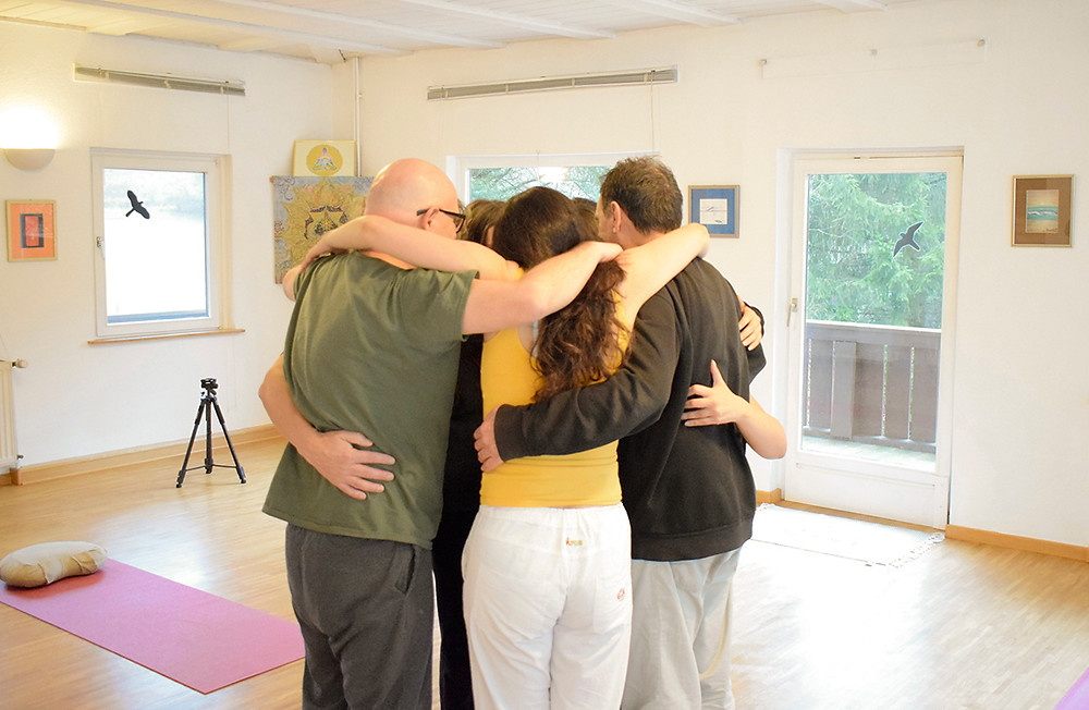 Group of People hugging