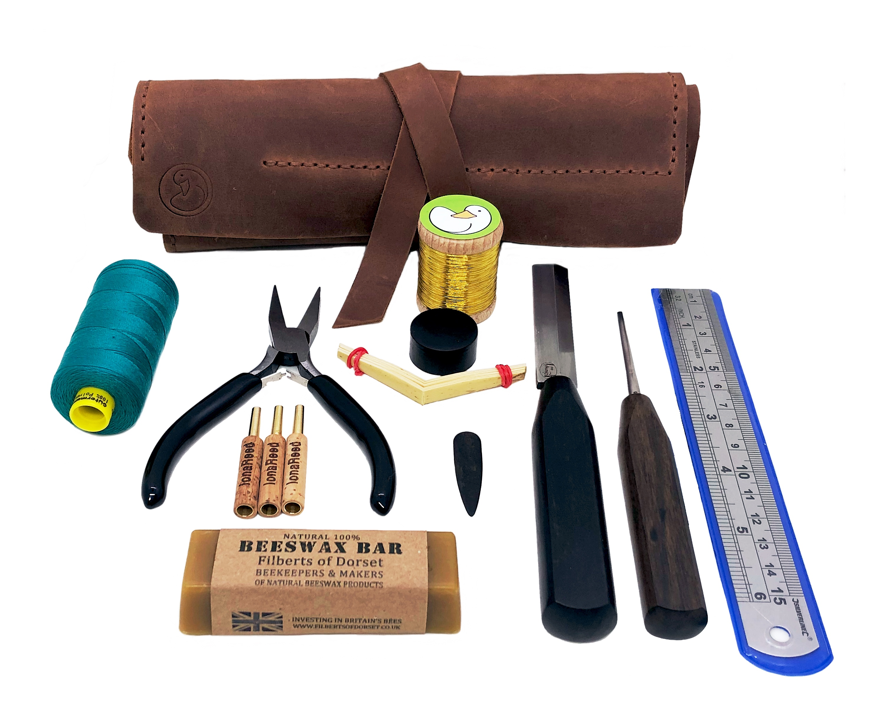 Oboe Luxury Reed Making Kit Contents