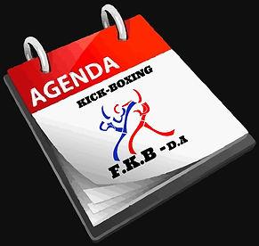calendrier FKBDA