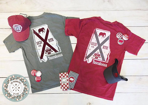 Alabama Comfort Color T-shirt with Pocket