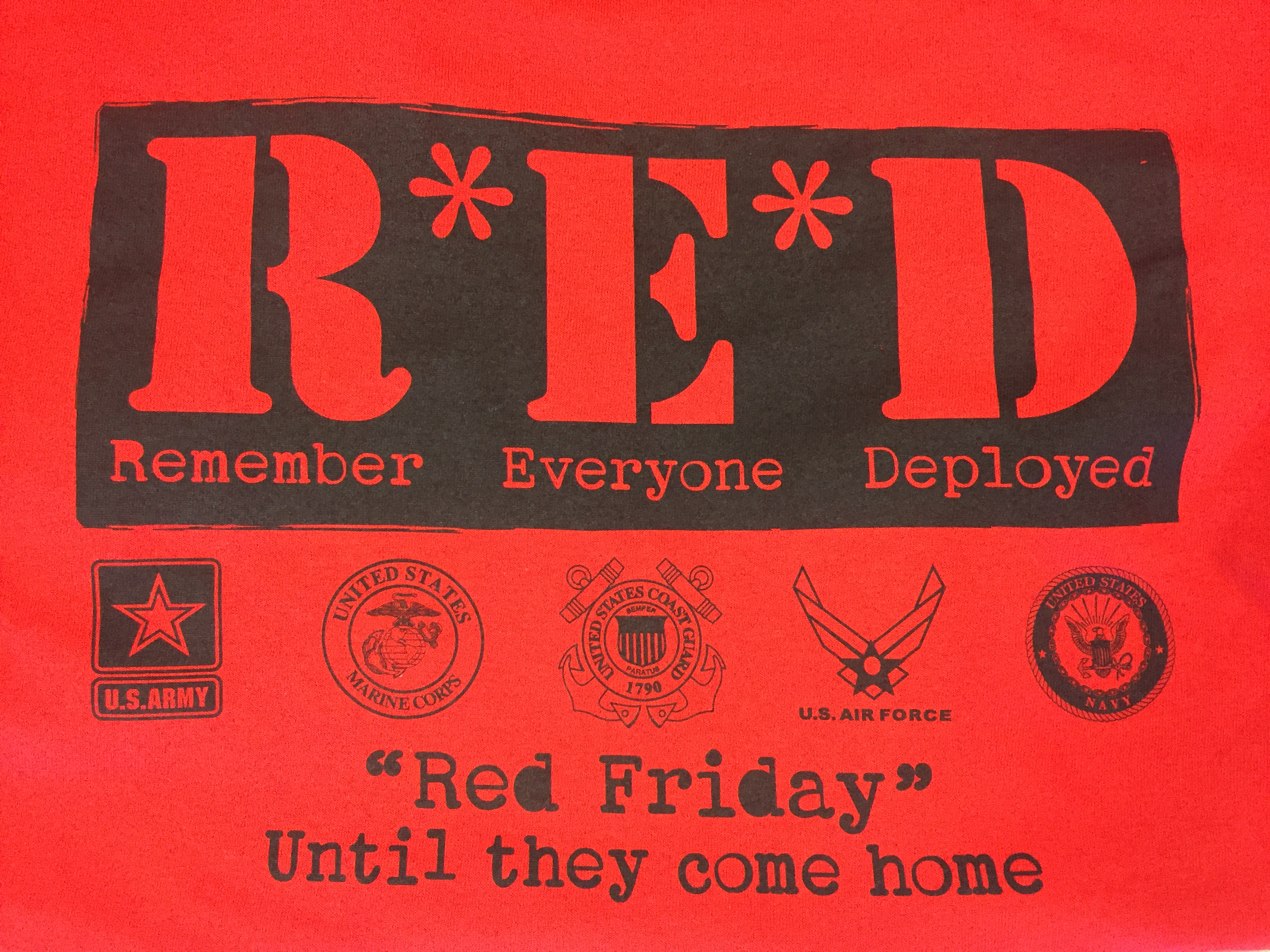 RED Remember Everyone Deployed
