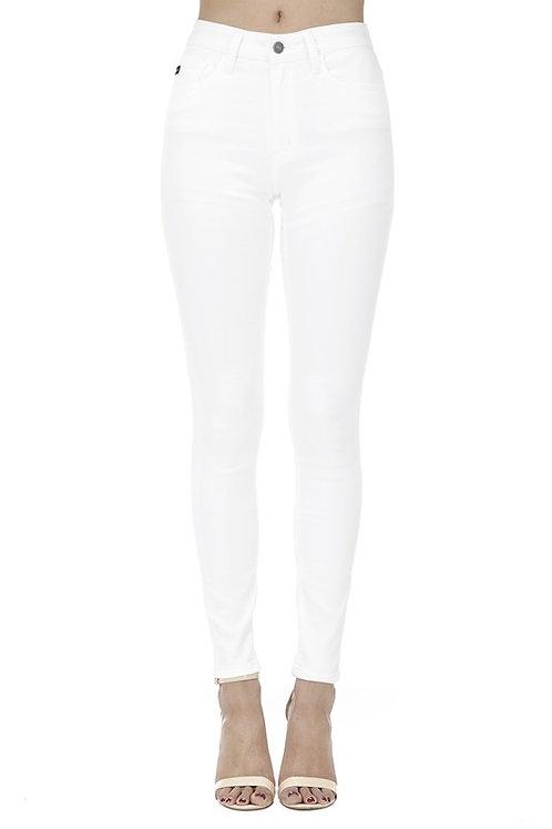 KanCan White Hi Rise Skinny Jeans