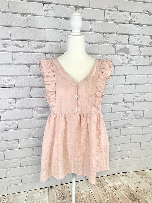 Light Pink Sleeveless Top