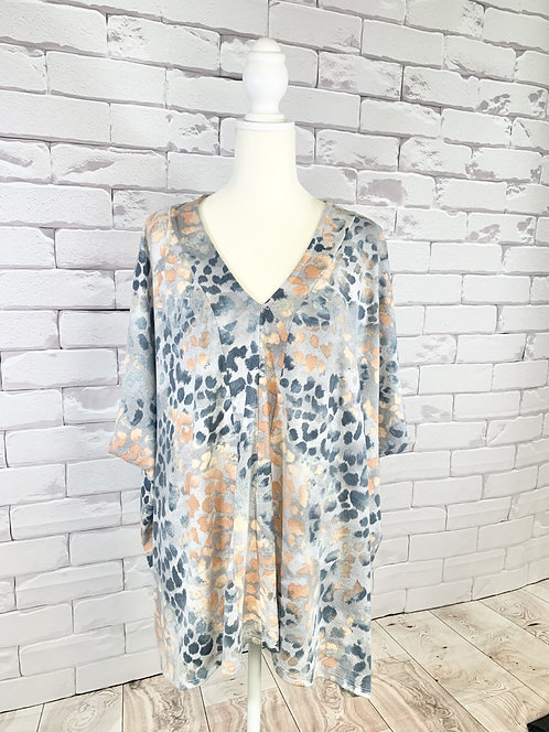 Leopard Print Tunic - One Size Fits Most