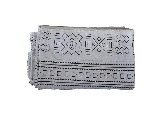 African mudcloth Throw