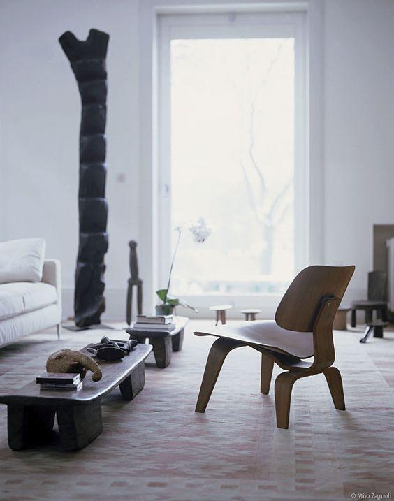 senufo stool coffee table