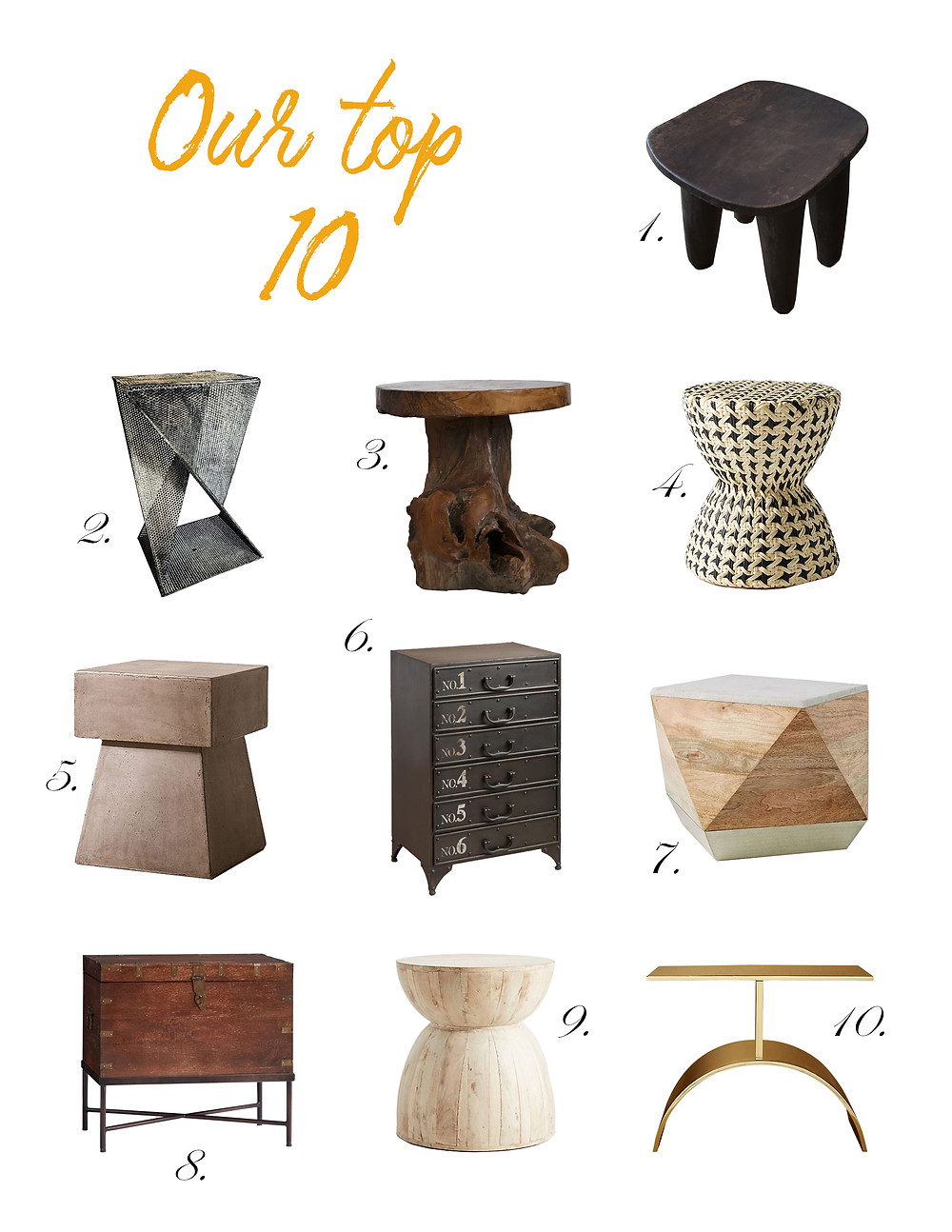 Side Table - Top 10