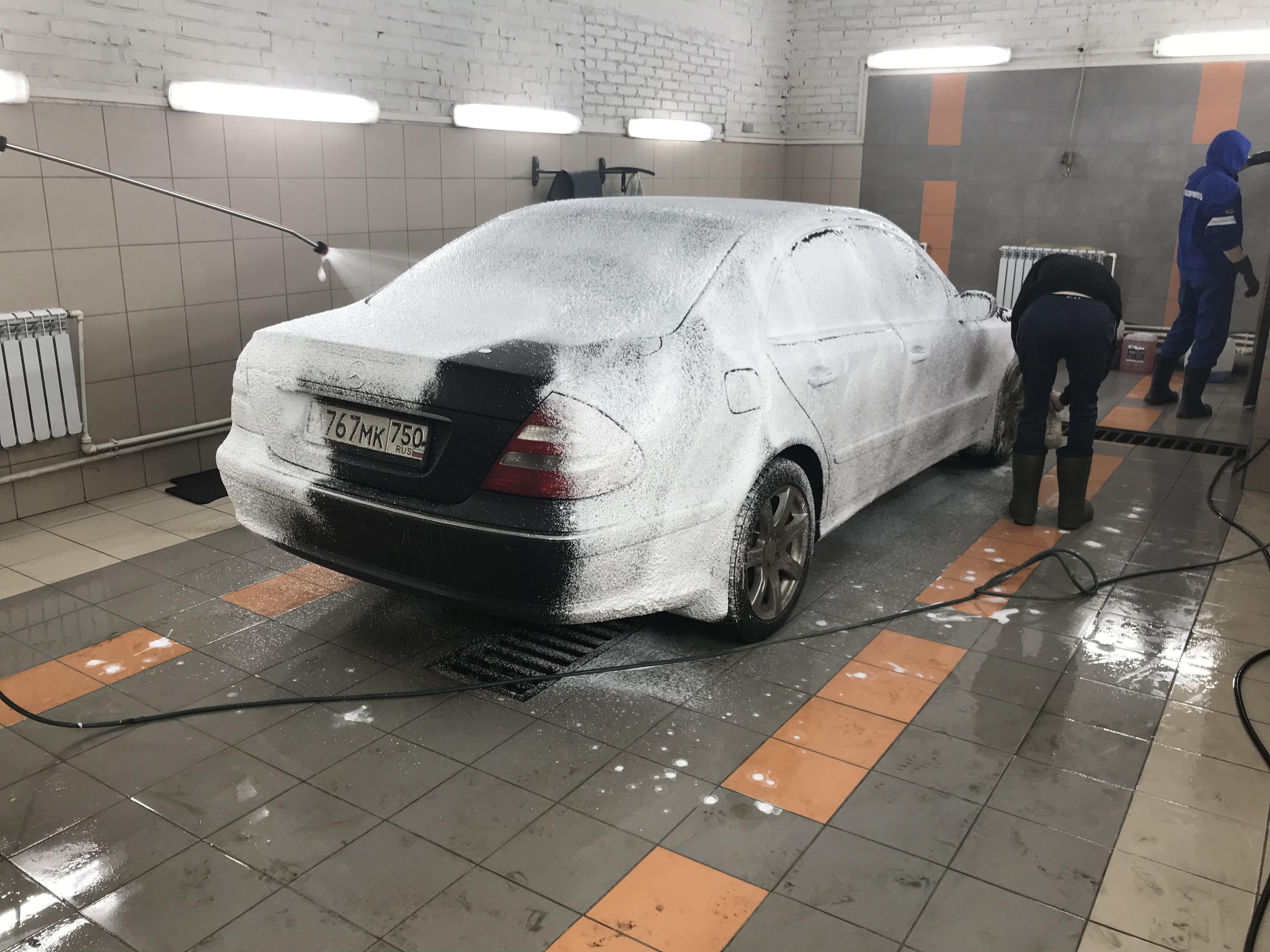 Мойка Mercedes E-class w211