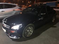 Mercedes W205 после полировки