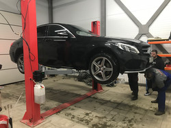 Ремонт Mercedes C-class w205