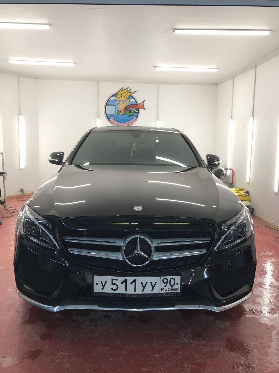 Мойка Mercedes C-class w205