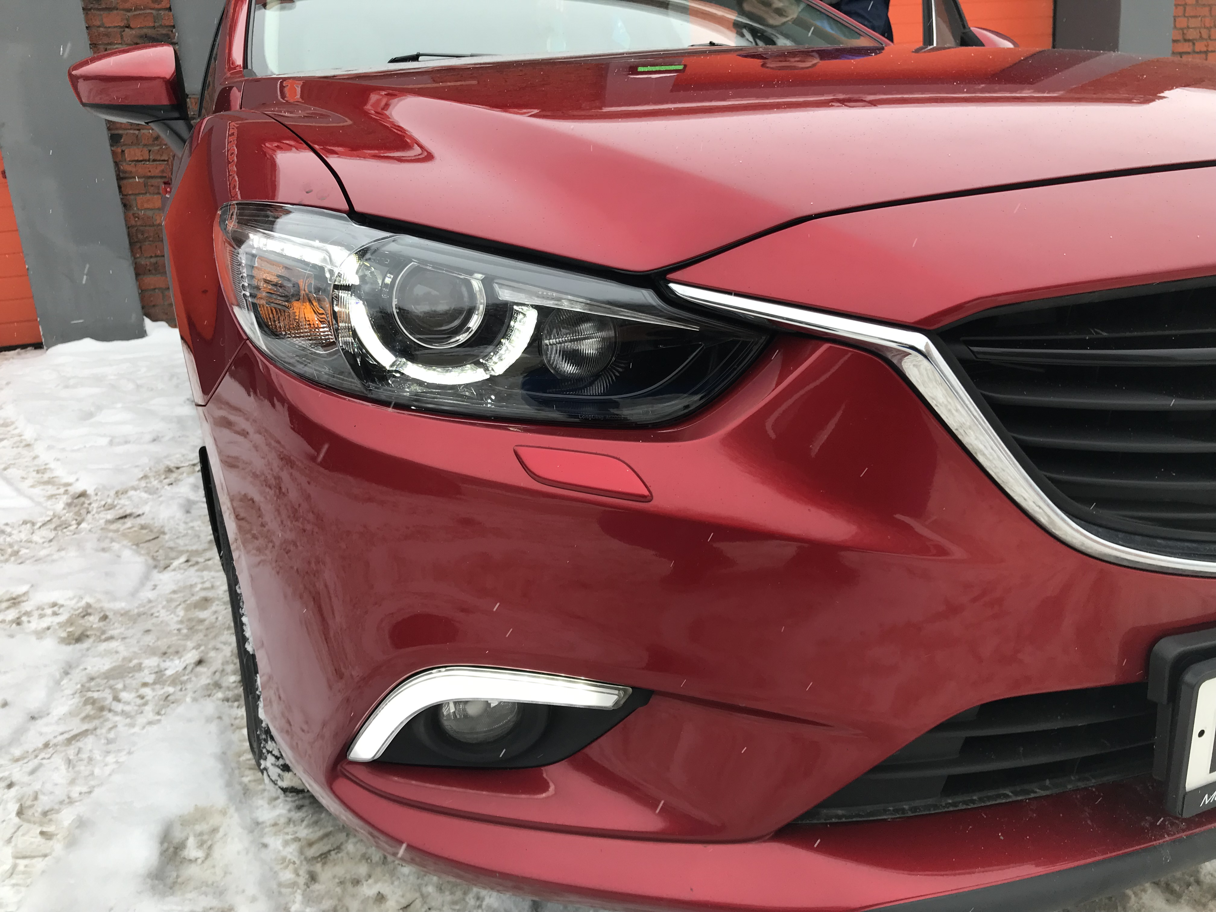 Замена фар Mazda 6