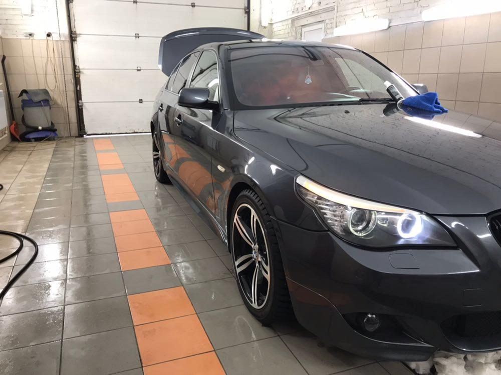 Мойка и полировка BMW E60