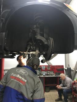 Ремонт подвески Volvo XC60