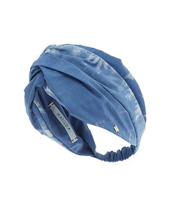 Turbante Stronger Tie Dye Azul
